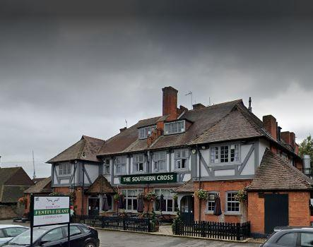 Watford Observer: The Southern Cross (google street view)