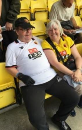 Michael Molyneux had been diagnosed with Parkinsons disease. He was a huge favourite and familiar face with Watford fans