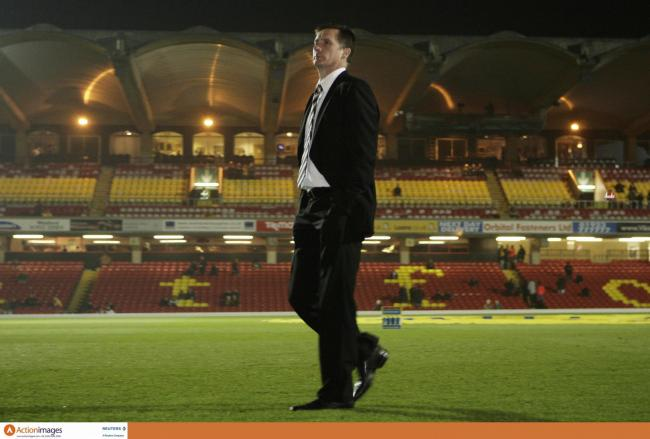 Glenn Roeder back at Vicarage Road as Newcastle United manager in 2006. Photo: Action Images