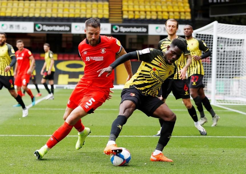 Tom Dele-Bashiru may not be back for Watford this season