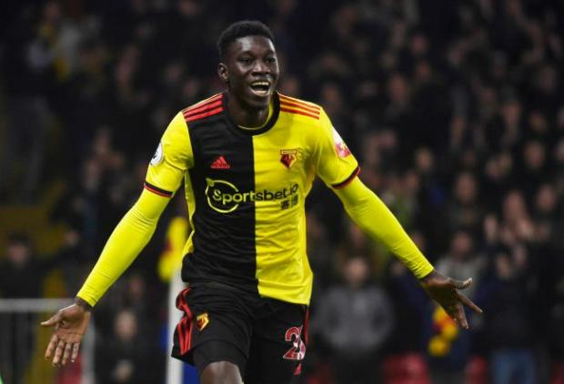 Watford Observer: Watford ace Ismaila Sarr is the fastest player Ben Foster has ever seen