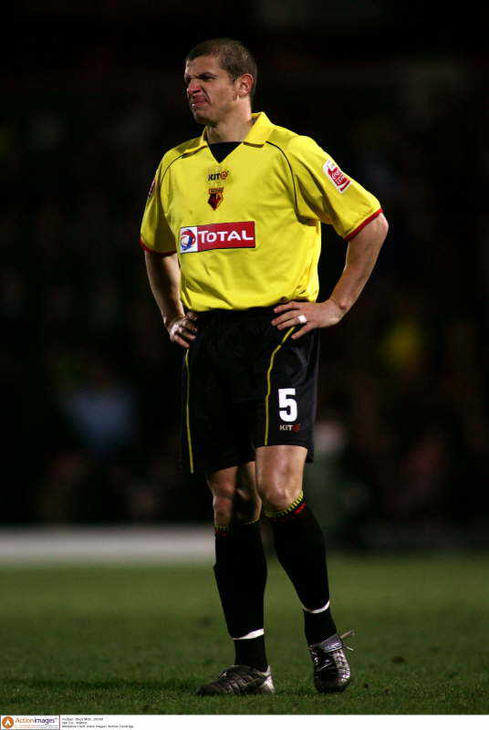 Former Watford captain Neil Cox still unhappy with departure five years on. Picture: Action Images