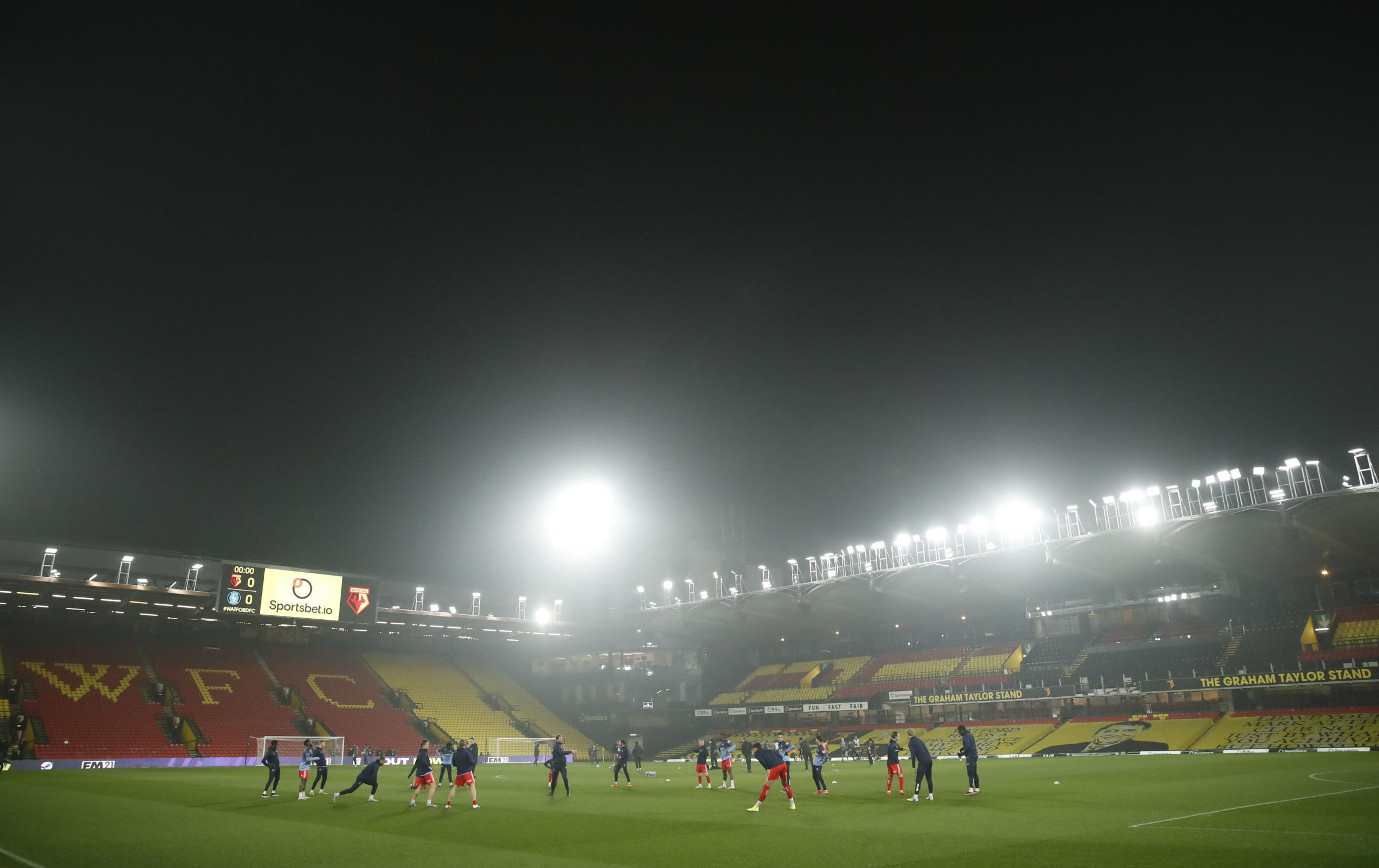 Watford to pay tribute to supporters against Aston Villa next weekend