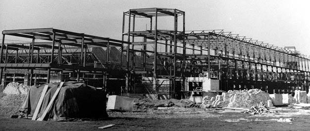 Leavesden Aerodrome tower being built -1940