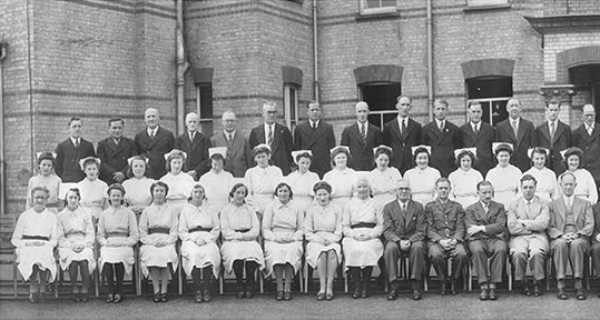 Leavesden Mental Hospital staff- 1946