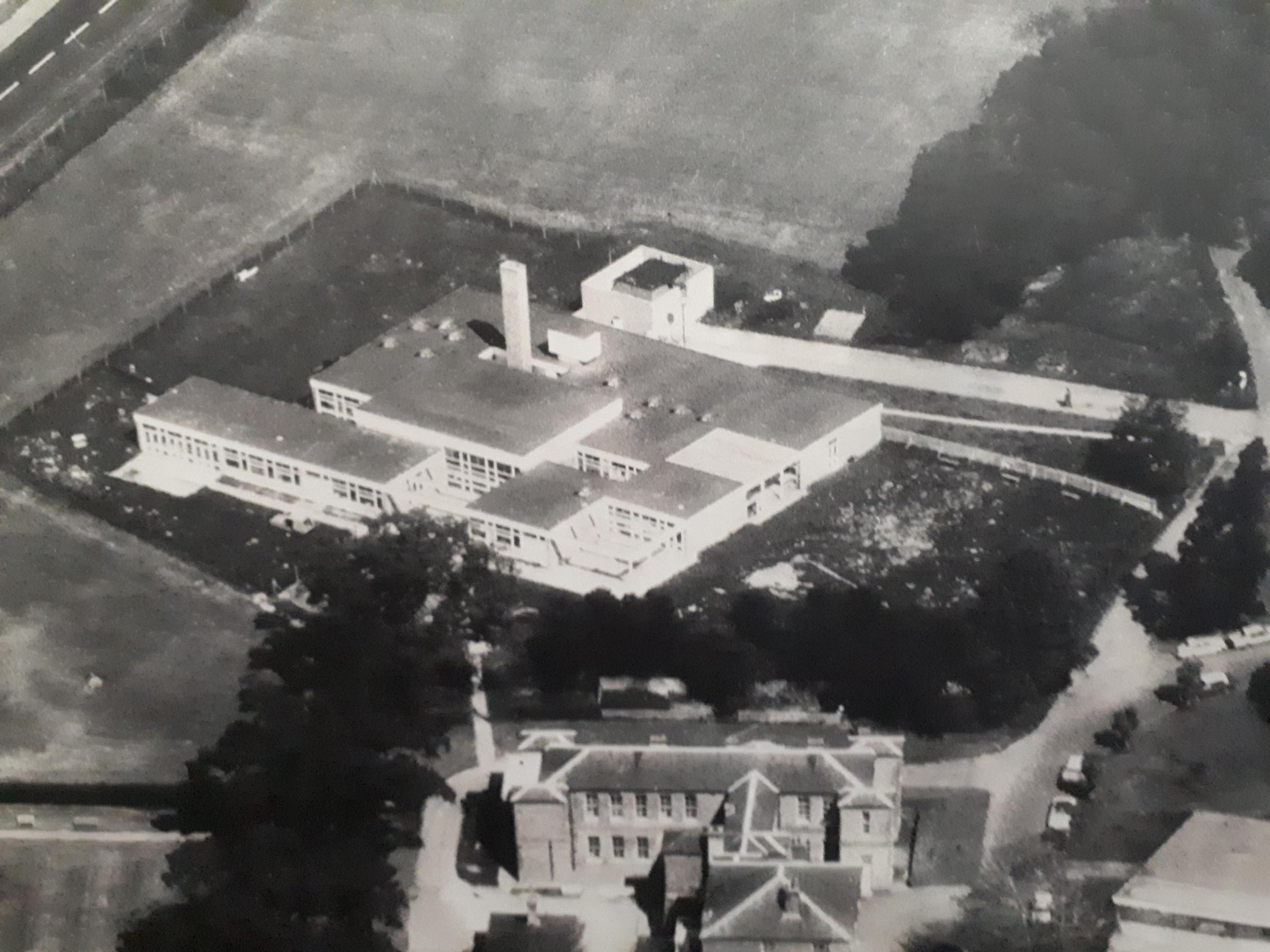 Springfield School in 1968. Photo: Leavesden Hospital History Association
