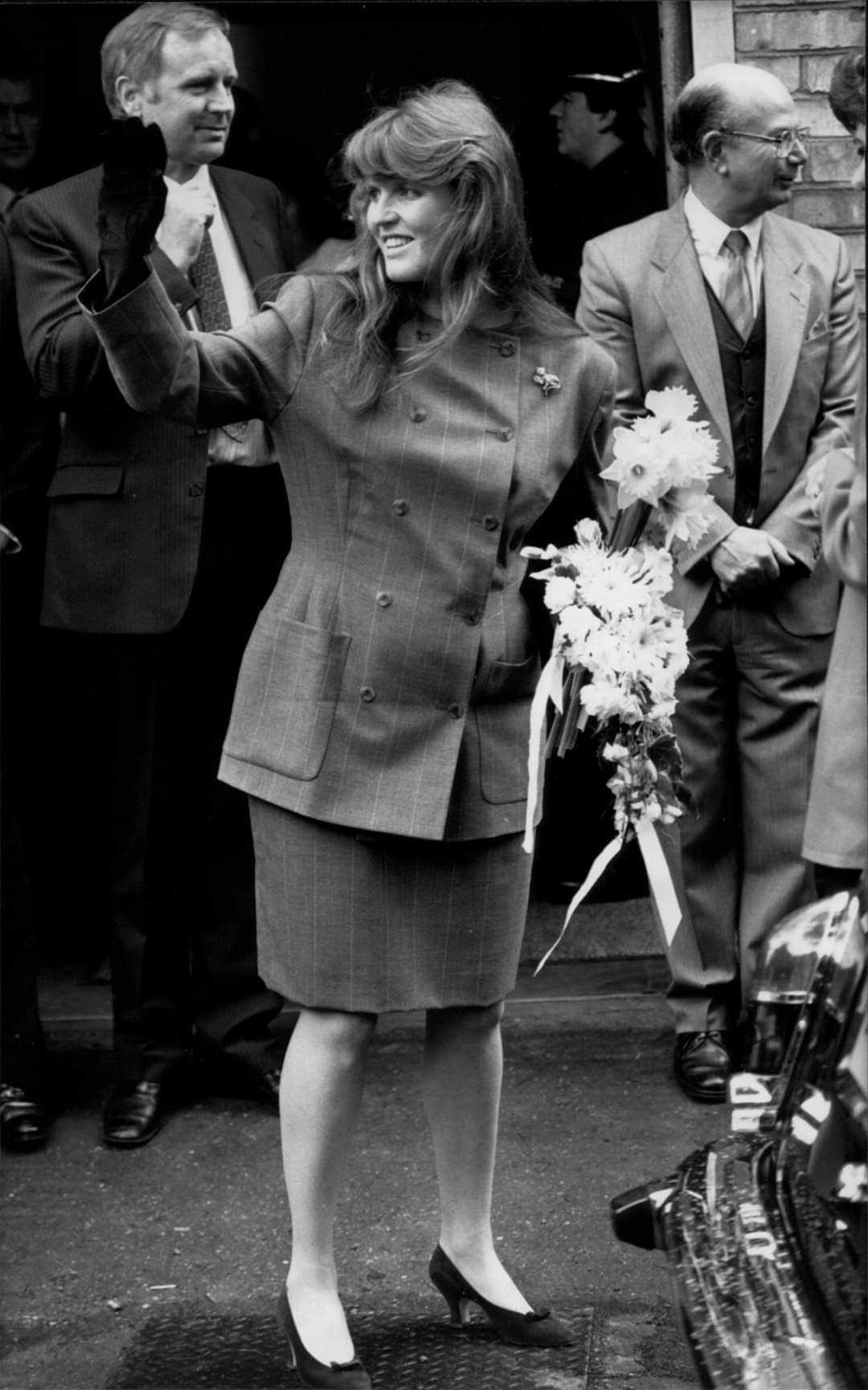 Sarah Duchess of York in Leavesden in 1988. Photo: Leavesden Hospital History Association