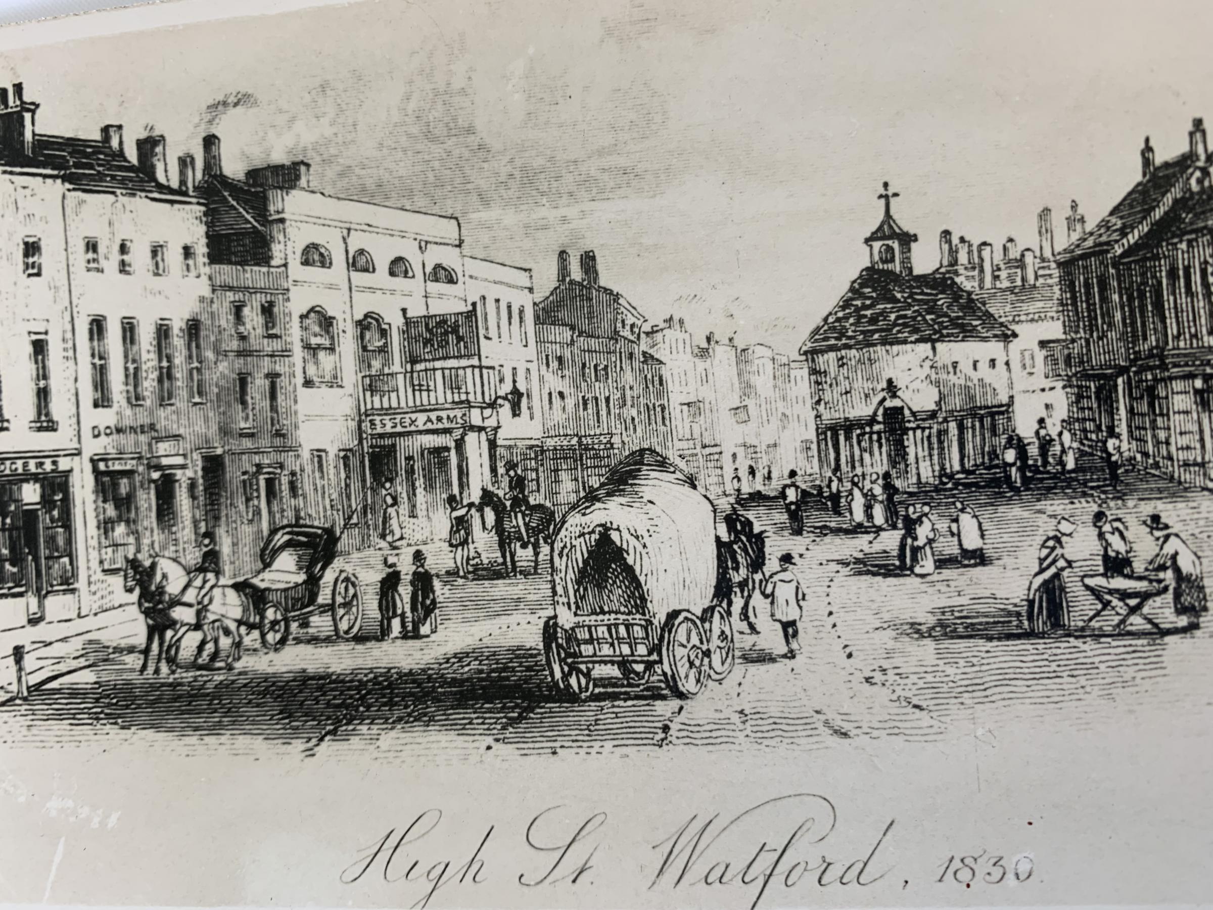 Market Place 1830