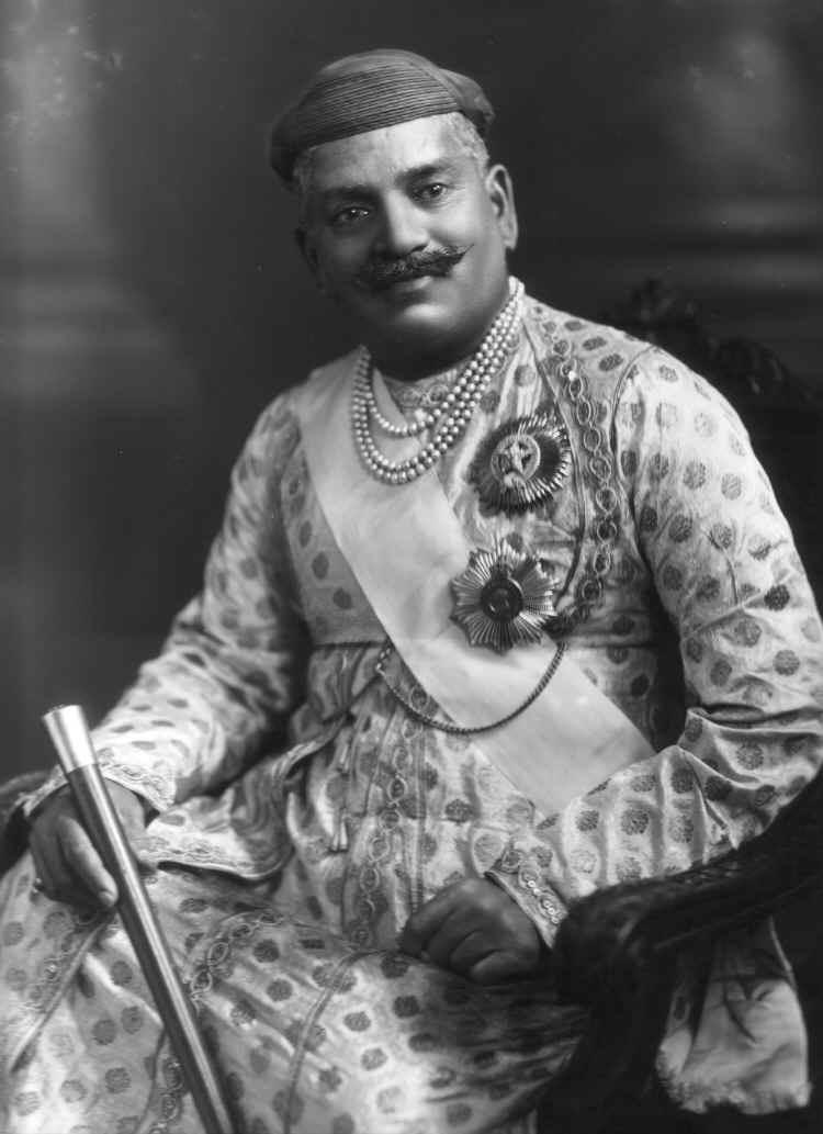 Sayajirao Gaekwad III, Maharaja of Baroda, India, in 1919