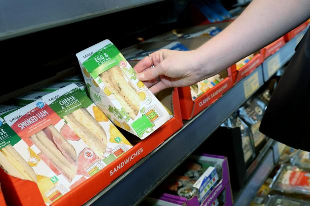 Watford Observer: If the initiative is introduced across all Aldi sandwiches, this would remove 23.8 million pieces of unrecyclable plastic each year. (Aldi)
