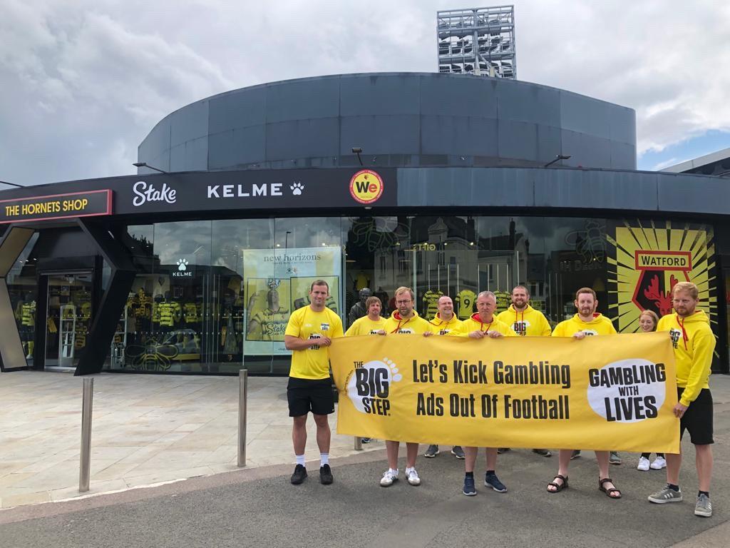 Campaigners ask Watford to drop gambling sponsorship with Stake