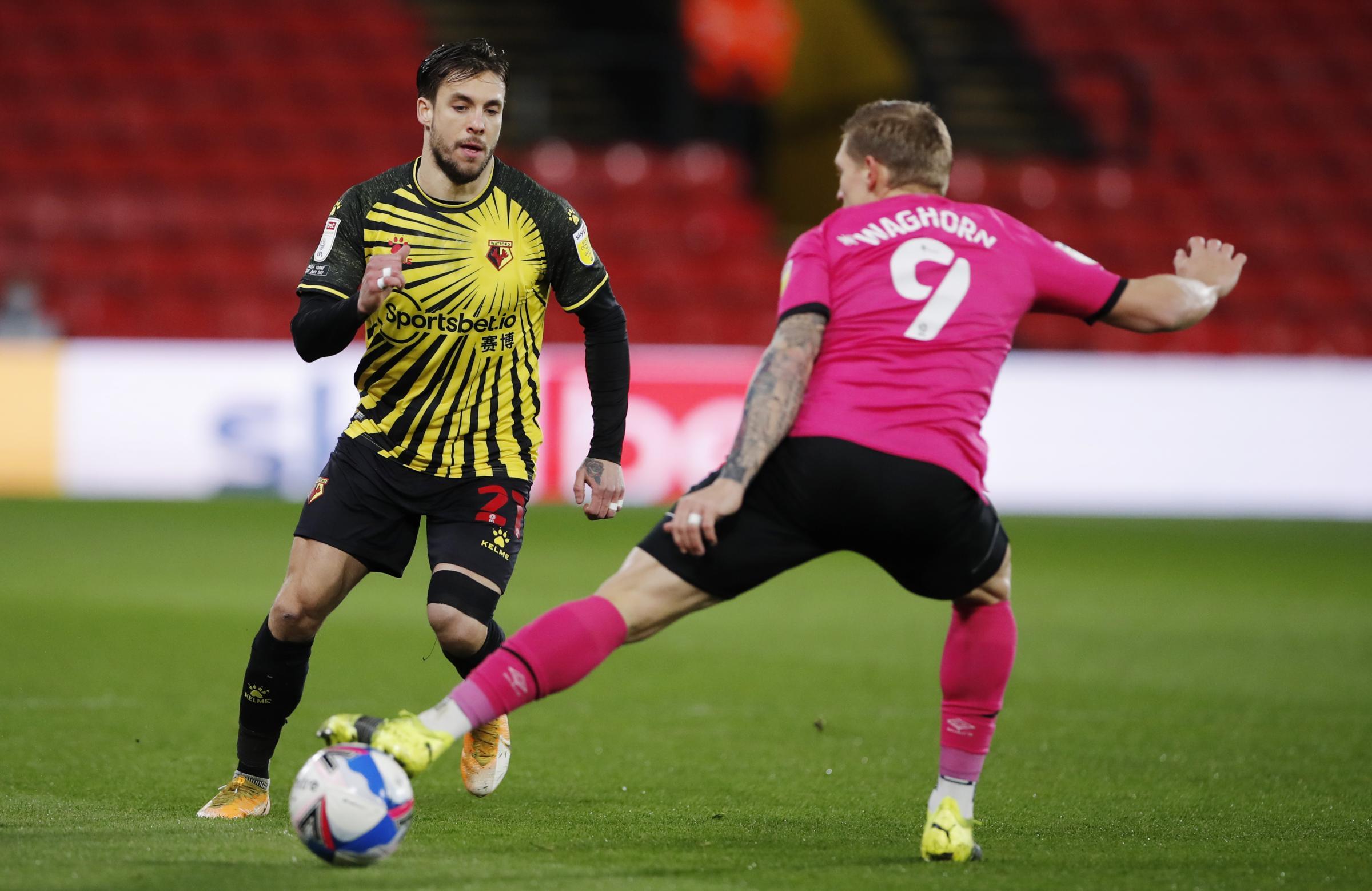 Kiko Femenia hoping to play for Watford against Aston Villa