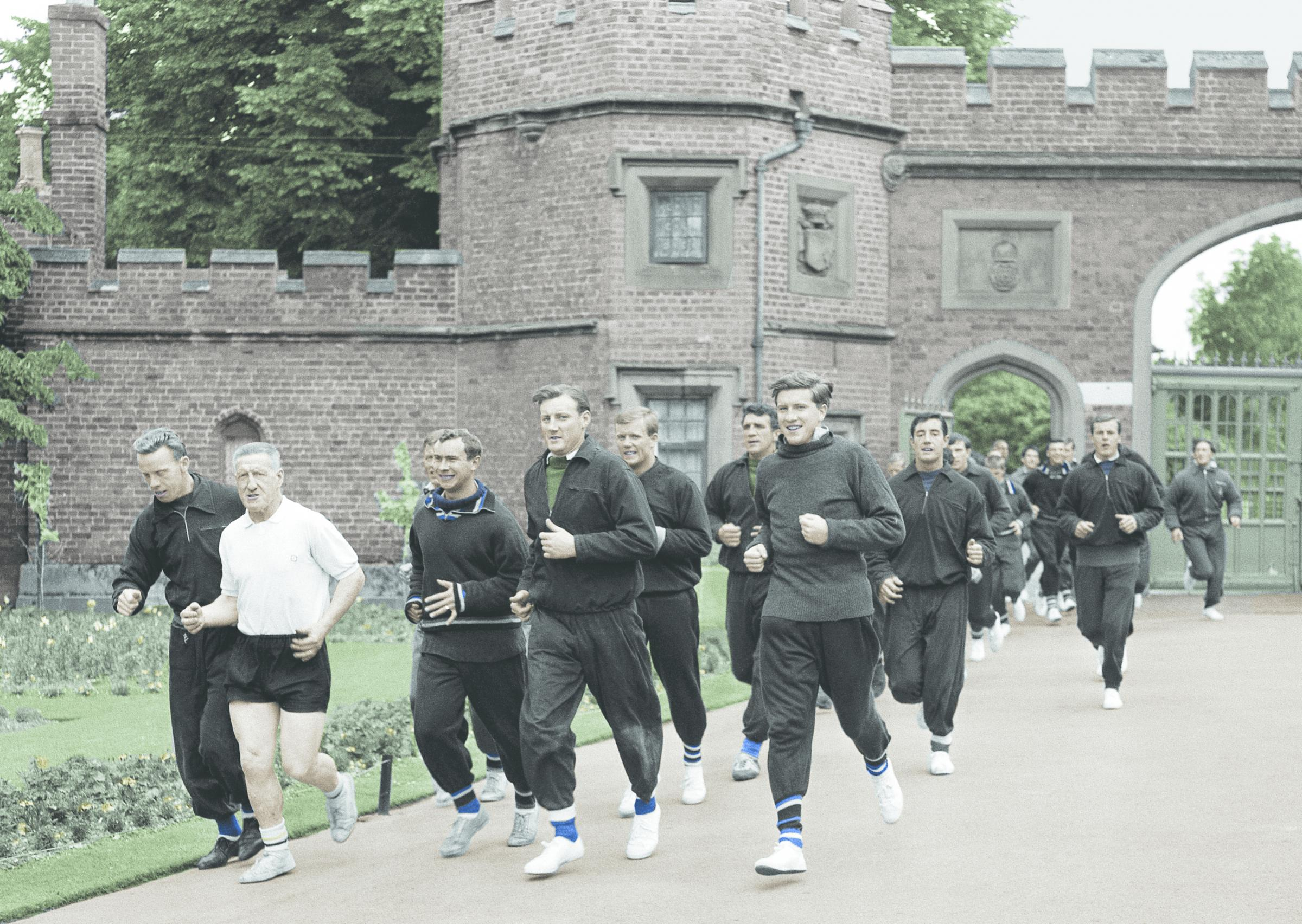 Memories of when Watford players used to train in parks