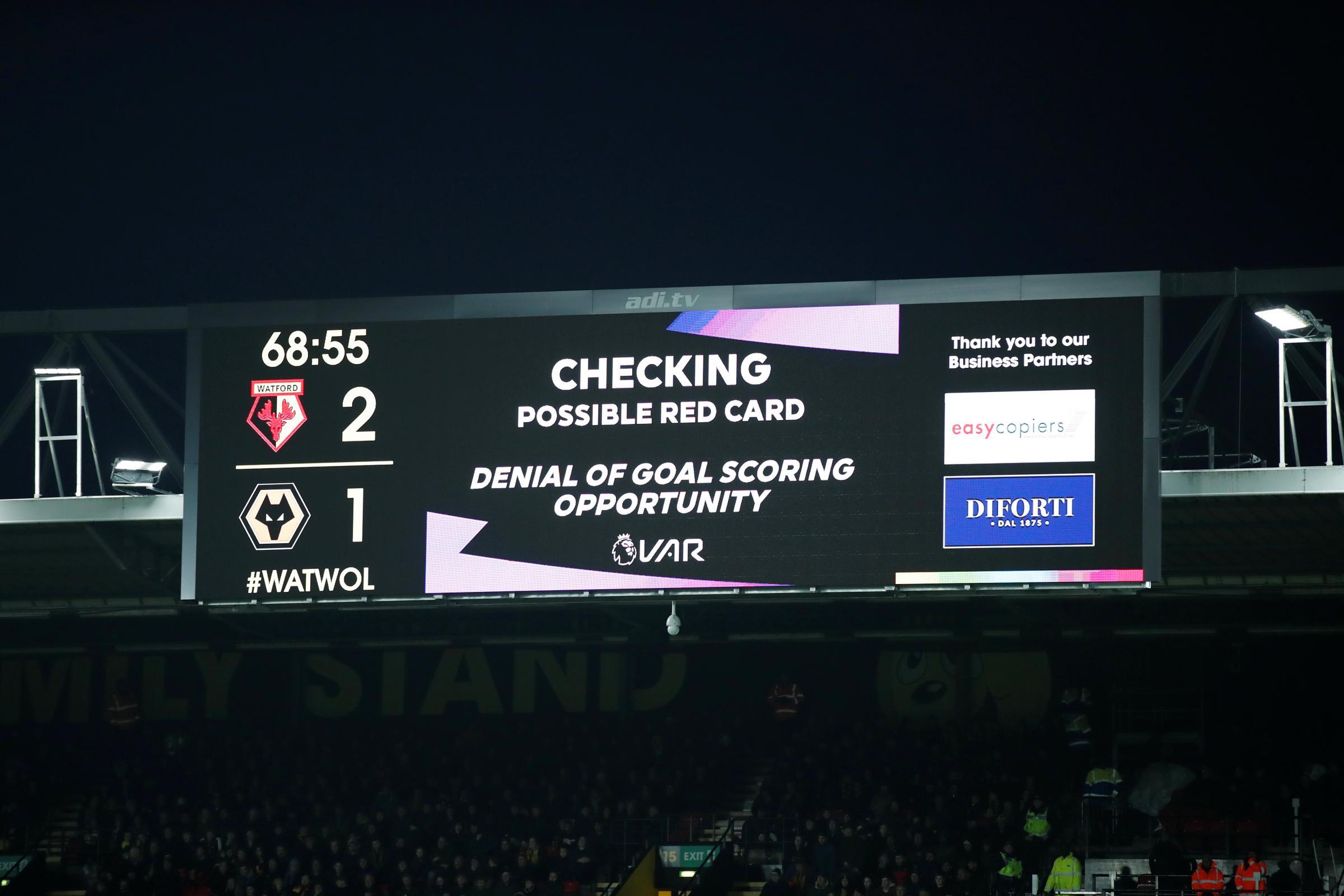 VAR changes to cut out trivial decisions in Premier League