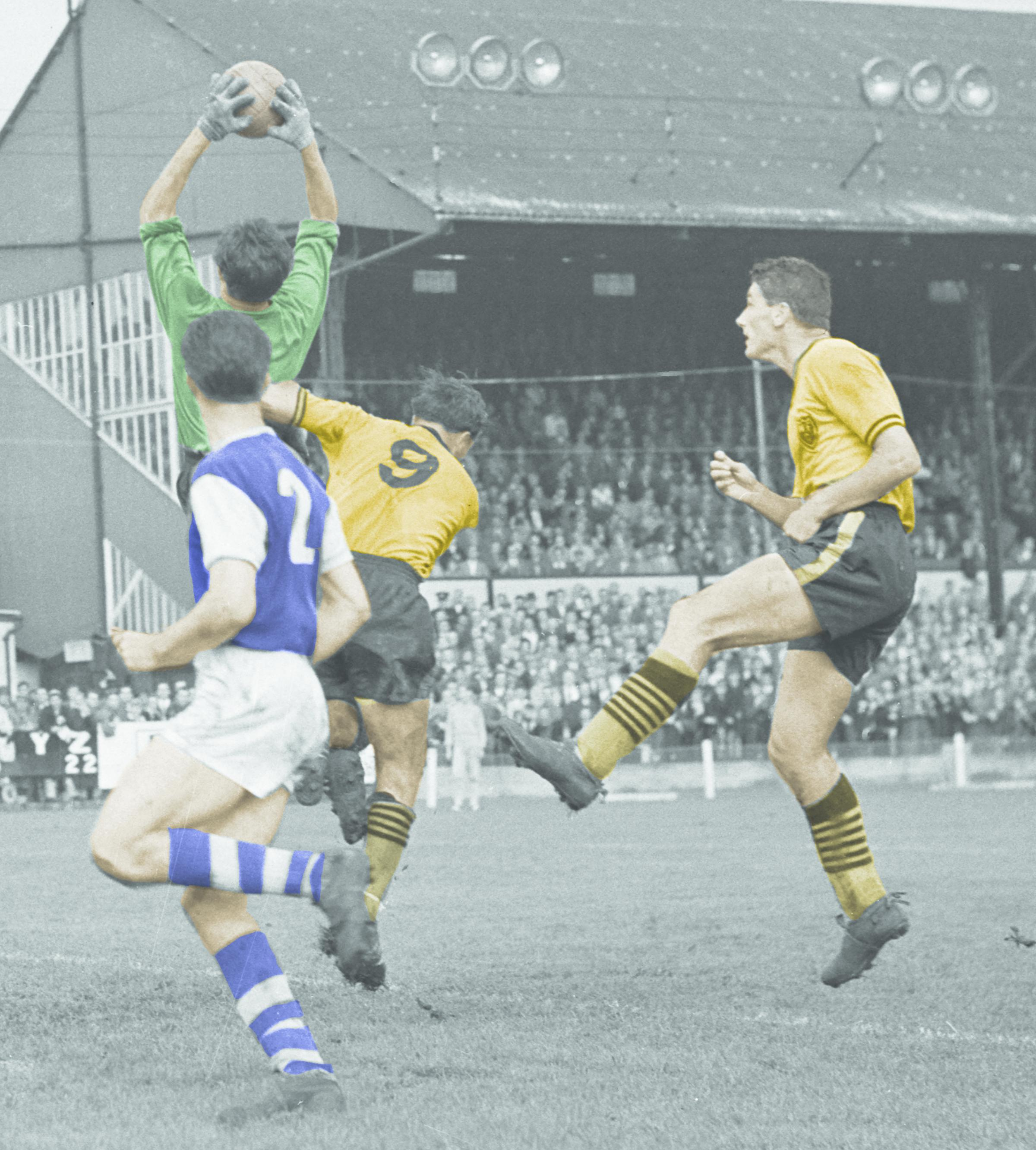 Memories of when Watford changed kit colour to gold and black