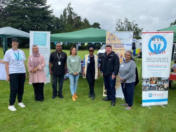 Watford Observer: Charities at the fair