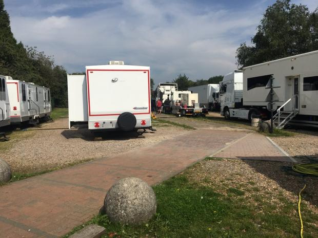 Watford Observer: Grantchester crew in Kings Langley