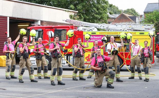 Watford Observer: Green Watch firefighting crew