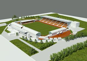 Watford Observer: Saracens' proposed plan of Barnet Copthall Stadium when used for rugby.
