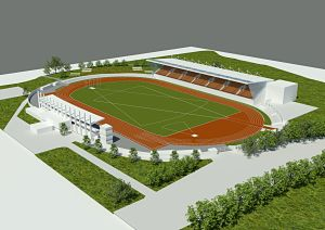 Watford Observer: Saracens' proposed plan for Barnet Copthall Stadium when the rugby club are not playing.