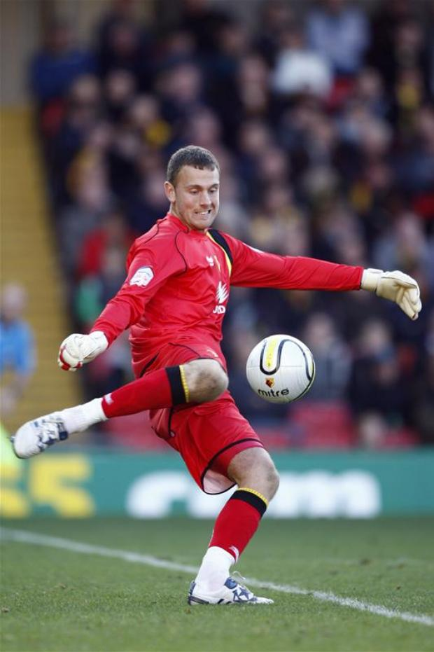 "Scott Loach described Saturday's clean sheet at Barnsley as ""like scoring a hat-trick"". Picture: Action Images"