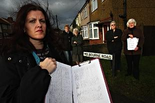 Kathryn Nicolai gathered a petition of more than 300 signautes which could be ignored by planning officers