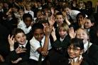 Schoolchildren in Bushey joined schools across the country in trying to break a singing world record on Wednesday