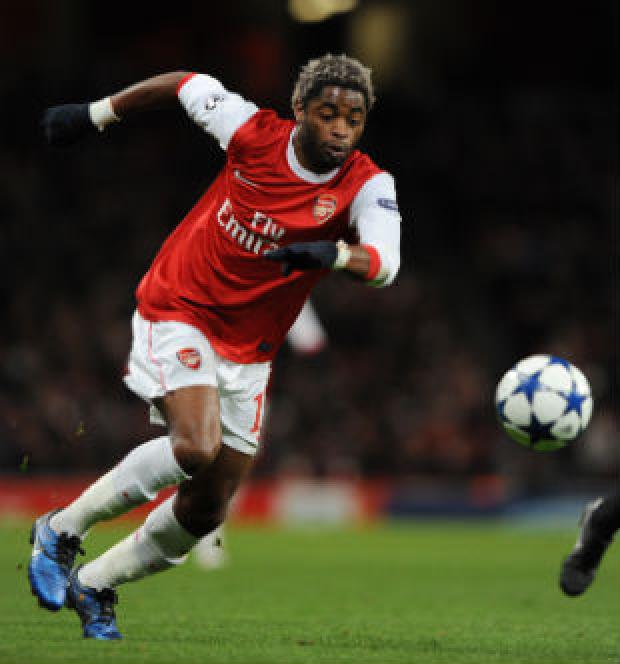 Arsenal midfielder Alex Song has been fined by police for speeding in Radlett