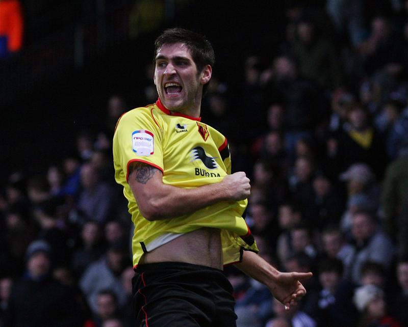 Watford striker Danny Graham has been included in the PFA Championship team of the year. Picture: Action Images