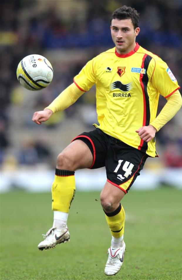 Ross Jenkins playing for Watford. Picture: Action Images