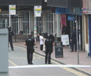 Watford Observer: Watford alert: Man holed up in Co-Op bank