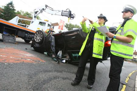 Rickmansworth Road Crash