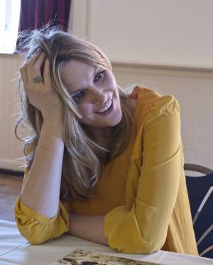Sophie Dahl visits Chorleywood