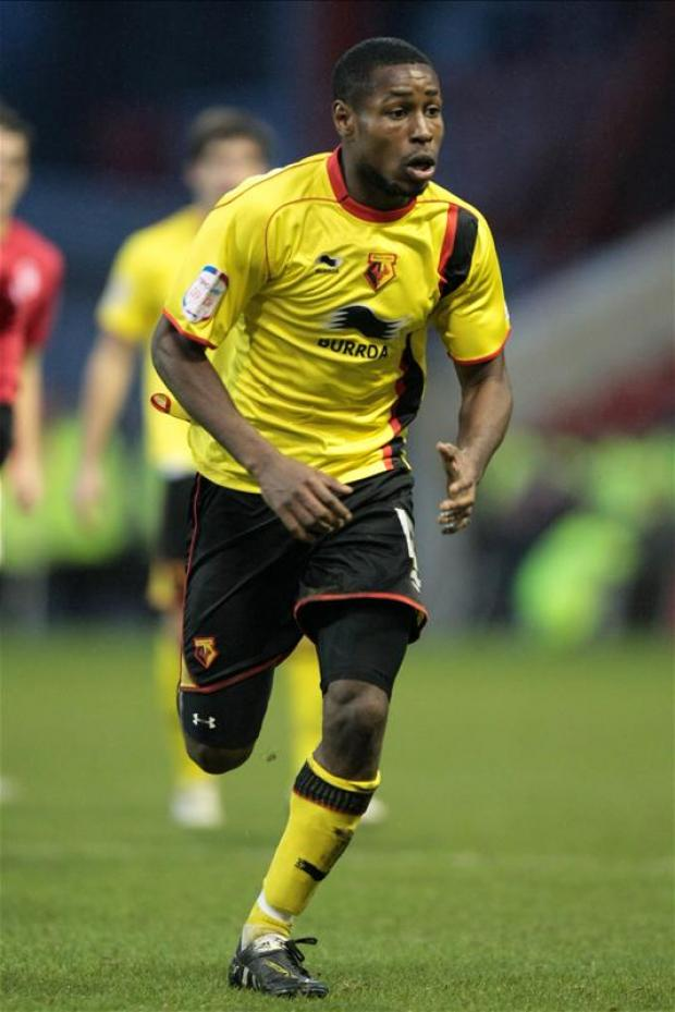 Dale Bennett made 12 appearances for Watford last season. Picture: Action Images