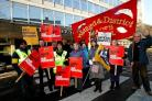 Public sector workers in Watford take to the picket lines