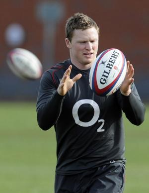 CUTTING OUT THE MISTAKES: Chris Ashton