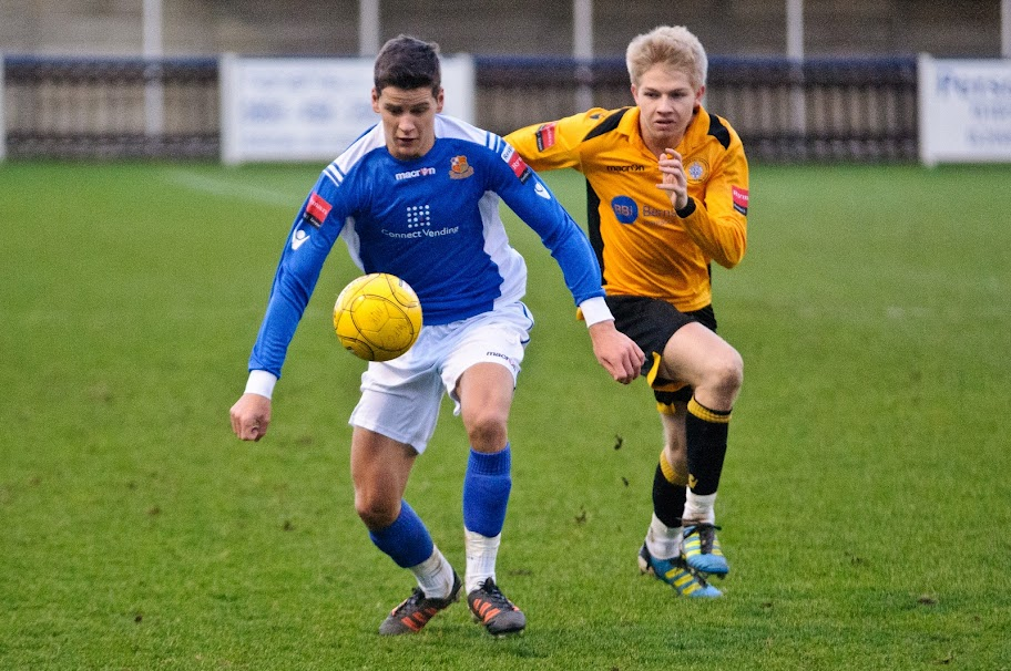 Smith targets Wembley final appearance. Picture: Steve Foster Wealdstone FC