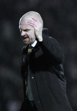 Sean Dyche has dismissed claims Burnley bid £8m for Troy Deeney. Picture: Holly Cant