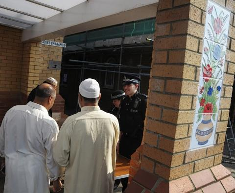Police hold surgery at Watford mosque