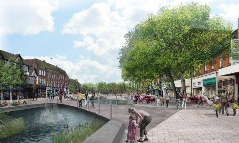 Town centre revamp contractor to be chosen