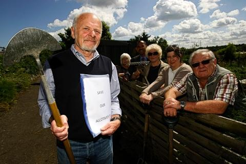 Campaigners 'absolutely gutted' over allotment decision
