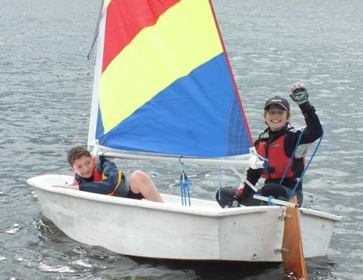 Youngsters enjoy time on the water at Aldenham Sailing Club
