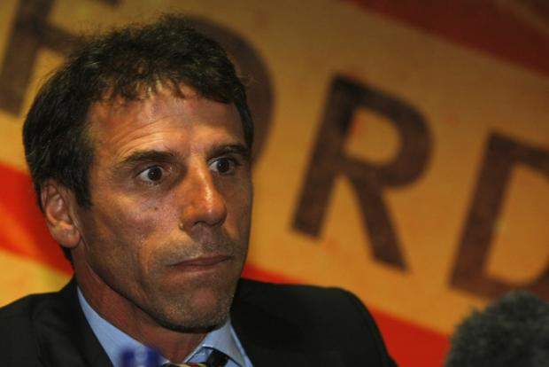 Zola also accepted it will be hard for the new signings to replace Martin Taylor. Picture: Holly Cant