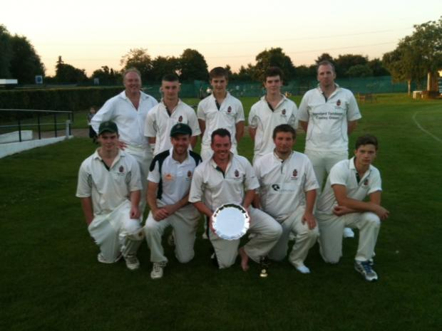 The victorious Watford Grammar School for Boys team.