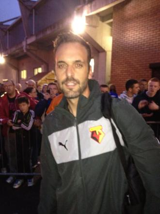Manuel Almunia was an unused substitute tonight