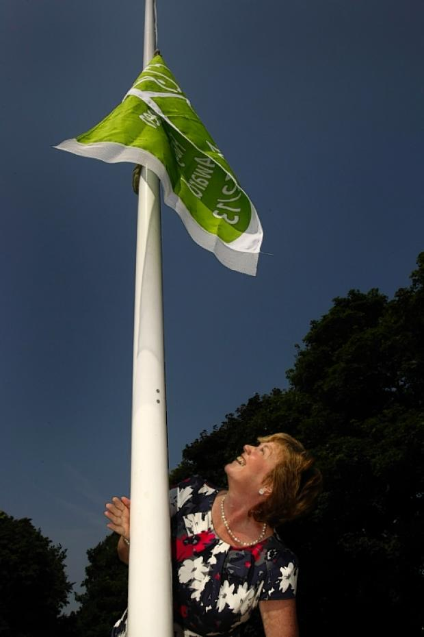 Green flags raised over three Watford parks