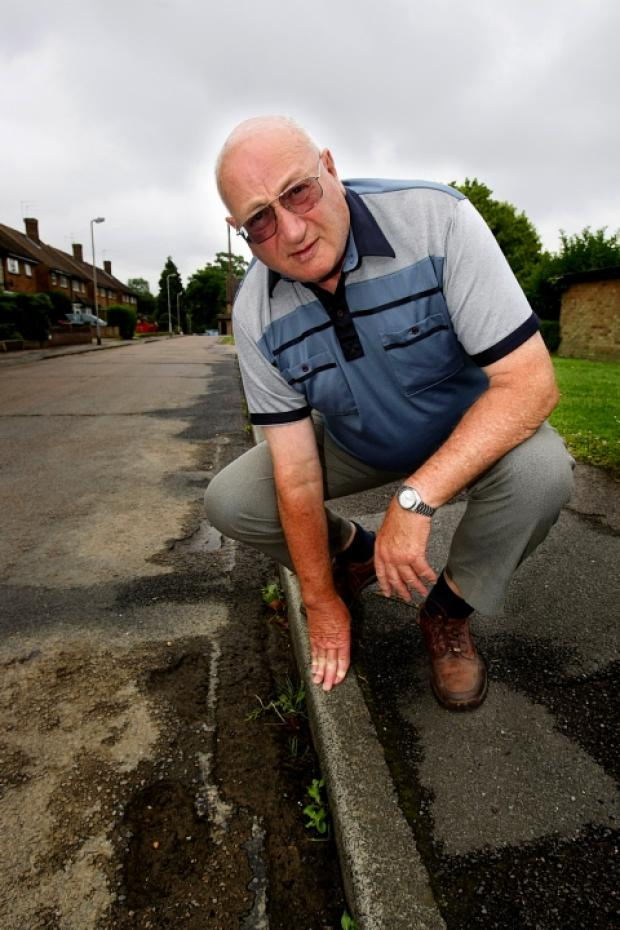 Residents association concerned over potholes