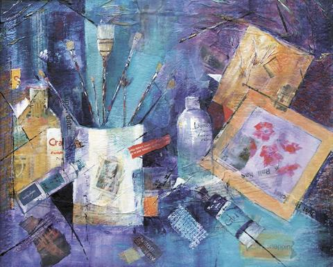 The Studio by Pinner Sketch Club president Sally Hyam