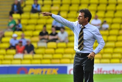 Hornets boss Gianfranco Zola insists the morale in his squad remains high: Simon Jacobs