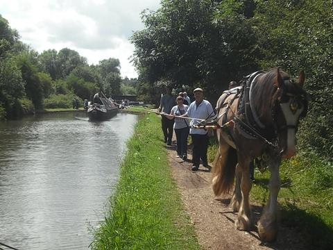 Celebration held for narrow boat